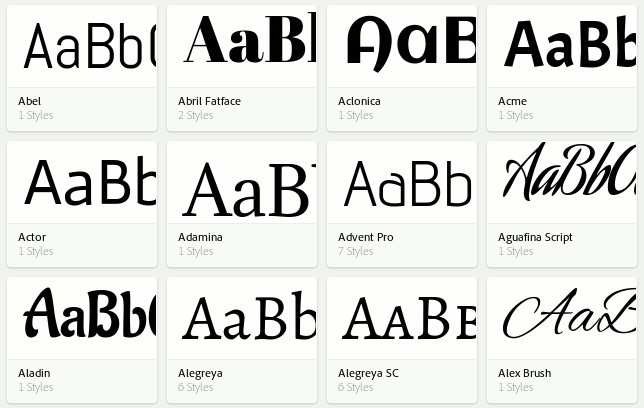 Use Adobe Edge Web Fonts in Your WordPress Website