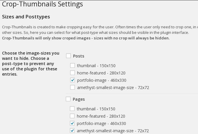 crop-thumbnails settings