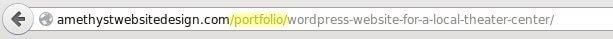 custom post type url in browser bar