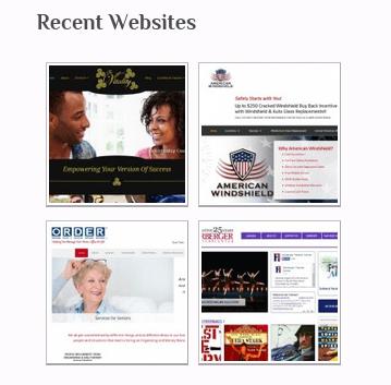 recent portfolio posts in sidebar example