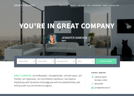 Custom Genesis Theme for Real Estate Sites