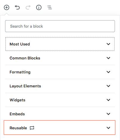 gutenberg editor add a block