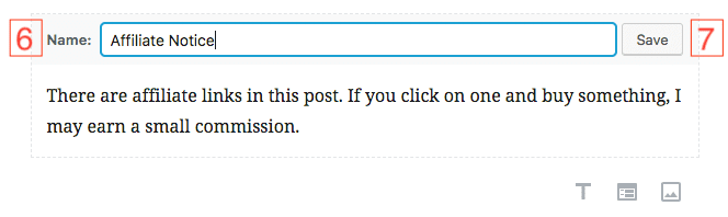gutenberg editor add reusable block