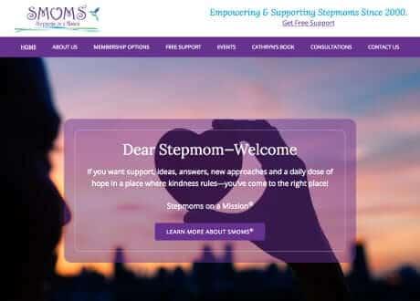 custom genesis website for stepmoms support group